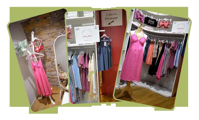 5c694129570c62 Devant le peu d'offre de vêtements originaux et pour se démarquer des  grandes chaînes, Lili sur les pavés essaie de proposer des vêtements neufs  pour une ...